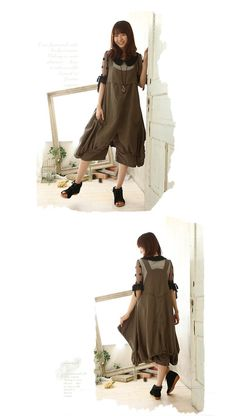 Overalls Natural ~ No. 13 adult casual is determined by the overalls of loose…