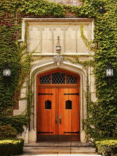 Doors on Welles Hall  SUNY Geneseo  Geneseo, NY  My Britt's college