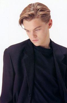 Leonardo DiCaprio While young