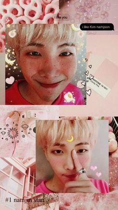 BTS Photos & More - Wallpapers: Namjoon - Wattpad Bts Jungkook, Namjoon, Bts Wallpapers, Bts Backgrounds, Pretty Wallpapers, Kpop Aesthetic, Pink Aesthetic, I Like You, Bts Lockscreen