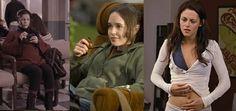 13 oktober 2012: Jong. Foto: (vlnr) Lauren Graham als Lorelai Gilmore  in de TV serie The Gilmore Girls, Ellen Page als Juno MacGuff  in de film Juno, en Kristen Stewart als Bella Cullen-Swan in The Twilight Saga: Breaking Dawn