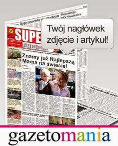 Twoja Mama na okładce gazety