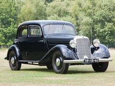 1952 Mercedes-Benz 170 Va Sedan #mbhess #mbclassic