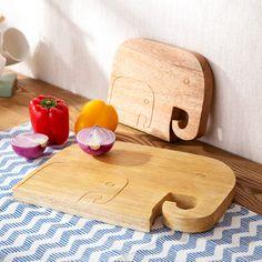elephant shape Mango wood chopping wood cutting board cut fruit thick board kitchen  plate board small wooden cutting board #Affiliate