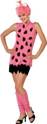 Adult Deluxe Pebbles Flintstone Costume Pink Costume Wig w/BonePink and Black ShirtTattered Black ShortsPink LeggingsThis Deluxe Adult Pebbles costume is the way to go if Pebbles Flintstone Halloween Costume, Flintstones Costume, Costumes For Teens, Girl Costumes, Adult Costumes, 1950s Costumes, Funny Costumes, Pink Costume, Costume Shop