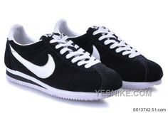 timeless design a6306 18d0f Nike Cortez Yoth Women Black White New Shoes Cheap Nike Running Shoes, Buy  Nike Shoes