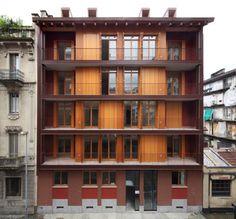 Negozio Blu Architetti Associati - Addition and renovation of an 1930′s apartment building