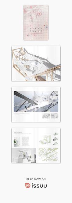 Yiran Zhang Undergraduate Architecture Portfolio WashU B.S in architecture, minor in art #architectureportfolio