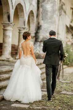 Couple photo shoot ideas. Candid photography. Galia Lahav Wedding Dress | Naomi Kenton Photography