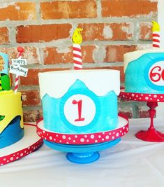 Dr. Seuss Cakes at a
