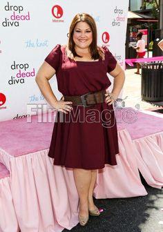 Brooke Elliott | Actress Brooke Elliott attends the Drop Dead Diva official wedding ...