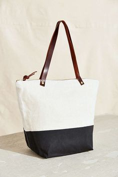 Thread & Paper Color Block Tote Bag - Urban Outfitters