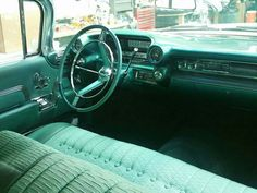 Interior of a 1959 Cadillac