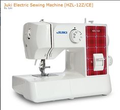 Juki Industrial sewing machine technology in every stitch. Light weight sewing machine with 22 stitch patterns and 4-step buttonhole. This little workhorse comes with LED lights for a brighter sewing area and automatic needle threader. The arm and stitch variety give you lots of flexibility. Great
