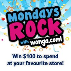 Enter To Win, Happy Monday, Giveaways, The 100, Facebook, Store, Tent, Shop Local, Shop