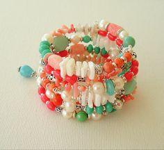 Boho Beach Bracelet Bohemian Jewelry Glamour by BohoStyleMe