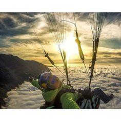 ✈ #nextstop ➡ #adventure  #redbull #oakley #gopro #sky #sunset  #clouds #landscape #travel #