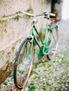 #green bicyclette...