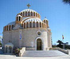 Saint Constantine Greek Orthodox Church in Glyfada, Greece