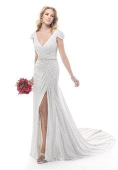 Designer Mark Zunino and Tamra Barney with her wedding dress   I Do ...