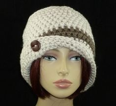CROCHET PATTERN PDF for Sonya Flapper Cloche par HandmadeCottage