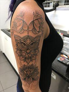 Adding to my arm tattoo - mandala tattoo