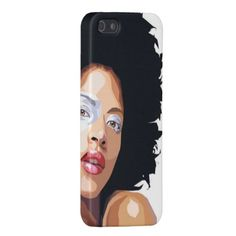 Shop Afro-centric iPhone 5 Case created by ImGEEE. Mothersday Gift, Consumerism, Afro, Natural Hair Styles, Phone Cases, Gift Ideas, Things To Sell, Iphone, Gifts