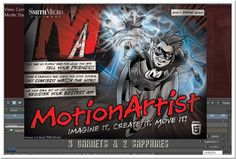 3 Garnets & 2 Sapphires: The MotionArtist Animation Graphics Software by Smith Micro is Fun and Challenging!