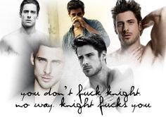Kristen Ashley's Knight... my favorite!