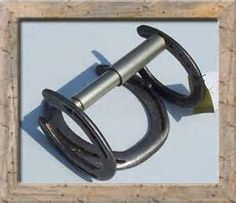 Image Detail for - Horseshoe Toilet Paper Holder ~ $25