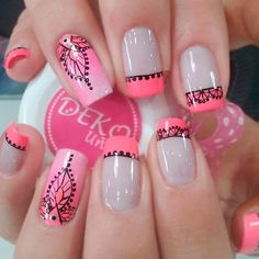 New Ideas For Baby Pink French Manicure Art Designs French Manicure Gel, French Manicure Designs, White Nail Designs, Nail Manicure, French Manicures, New Nail Art Design, Best Nail Art Designs, Design Art, Hot Nails