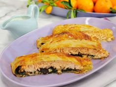 Puff Pastry-Wrapped Salmon Recipe : Marcela Valladolid : Food Network - FoodNetwork.com