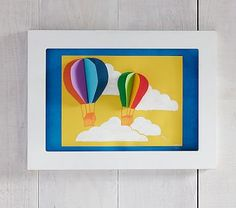 Braxton Side Slot Art Frame #pbkids Has a side slot to slip artwork in/out of for frequent change-up