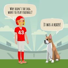 These funny football jokes for kids are sure to get a good chuckle. These clean jokes are appropriate for any age. Football Jokes, Football Stadiums, Football Players, Funny Knock Knock Jokes, Cheesy Jokes, Funny Jokes For Kids, Clean Jokes, Popular Sports, Football Pictures