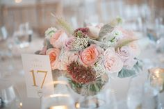 Pink and light flowers, Wedding by True Event - custom products from www.tiethatbindsweddings.com