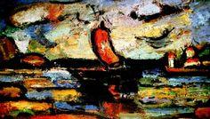 George Rouault, Landscape on ArtStack #george-rouault #art