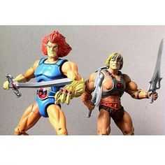 He-man thunder cats childhood toys