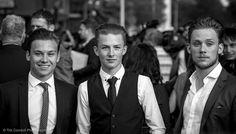 Finn Cole, Harry Kirton & Joe Cole - Peaky Blinders Series 2 World Premiere Birmingham | por timcornbill