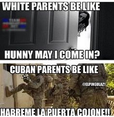 Cuban Humor, Cubans Be Like, Parents Be Like, Cuban Culture, Even When It Hurts, Comic Drawing, Spanish Humor, Wtf Funny, Jokes
