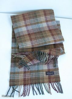 Mulberry Check Scarf