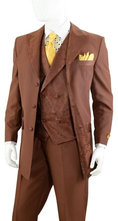 3 Pc 2 Button Single Breasted Men Suit. Great For Father Day. | 20 ...