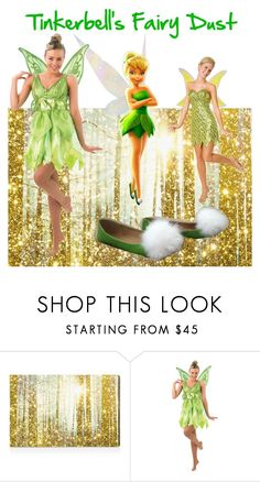 """""""Tinkerbell's Fashion"""" by janemusic ❤ liked on Polyvore featuring Oliver Gal Artist Co. and Disney"""