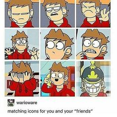 Tag yo self I'm either the top middle or the bottom middle>> depending on the day, I'm bottom left or bottom right. Sweat Vert, Tord Larsson, Eddsworld Tord, Tomtord Comic, Eddsworld Memes, Yaoi Hard, Eddsworld Comics, Chibi, Webtoon