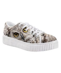 a823649c7ead50 Another great find on  zulily! Gray Owl Sneaker  zulilyfinds Gray Owl