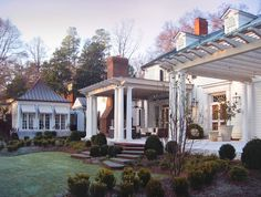 Southern style in Charlotte. Pursley Dixon Architecture.