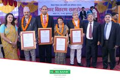 "Nepal Academy of Science & Technology (NAST) announced ""Nabil Science & Technology Awards 2074"" to four researchers/scientists. The awardees were felicitated by Hon'ble Minister for Education, Science and Technology and Pro Chancellor of NAST Giriraj Mani Pokhrel in an award distribution ceremony organized at NAST on July 3, 2018. The award selection process was fully handled by a team of renowned scientists and academicians under the aegis of NAST."