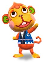 Sasuke - Animal Crossing: New Leaf #ACNL aka Flip had him in my town
