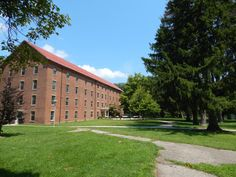North Hall, residence hall of Antioch College.