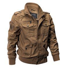 Homme Brodé Baseball Veste Imprimé LOOSE Bomber Casual Manteaux Outwear SZ