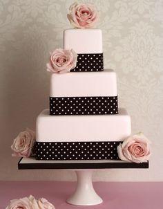 Pink Wedding Cake <3